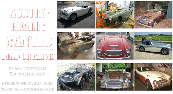 What's My Classic Austin-Healey | 100-4 | 100-6 | 3000 ...