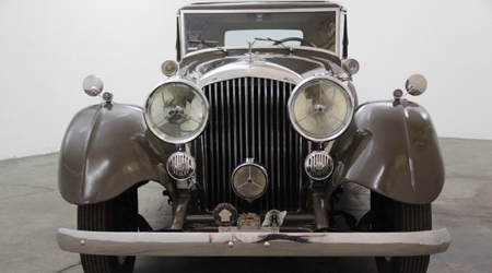 Bentley Mark VI H.J. Mulliner & Co. Saloon