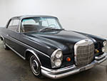 1964 Mercedes-Benz 220 SE Sunroof Coupe